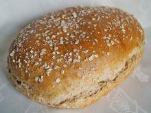 Chleb pszenny z prażonymi płatkami owsianymi