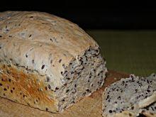 Chleb pszenny z siemieniem lnianym na drożdżach