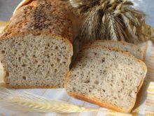 Chleb pytlowy z siemieniem lnianym
