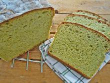 Chleb szpinakowo-czosnkowy