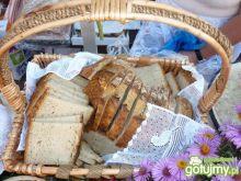 Chleb wiejski z pieca