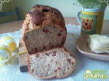 Chleb z boczkiem na zakwasie