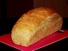 Chleb z foremki pszenny z otrębami żytnimi