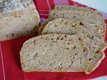 Chleb z kwasem chlebowym i słonecznikiem