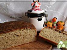 Chleb z lubczykiem i zieloną czubrycą