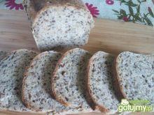 Chleb z siemieniem i słonecznikiem