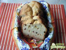 Chleb z żurawiną i rodzynkami