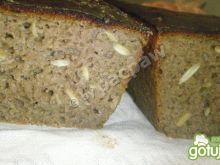 Chleb żytni 100% z pestkami dyni
