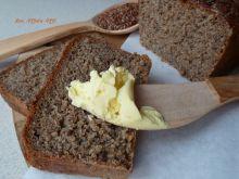 Chleb żytni razowy z siemieniem lnianym (szybki)