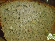 Chleb żytni z oliwkami