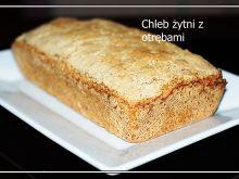 Chleb żytni z otrębami