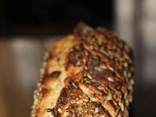 Chleb żytni ze słonecznikiem na drożdżach instant