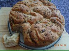 Chlebek cebulowo - ziołowy