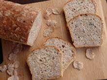 Chlebek drożdżowy z płatkami śniadaniowymi