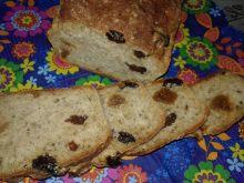 Chlebek figowo - rodzynkowy