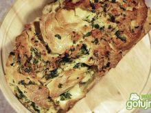 Chlebek odrywany z czosnkiem i mozarellą