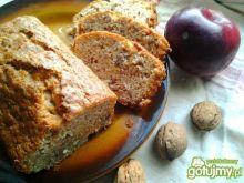 Chlebek z dynią, jabłkami i orzechami