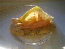 chlebek z łososiem wg Dukana