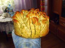 Chlebek z masłem ziołowym