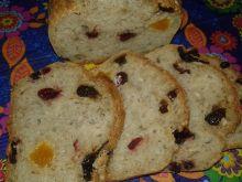 Chlebek z suszonymi bakaliami