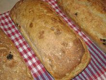 Chlebek z żurawiną i ostropestem na krupczatce