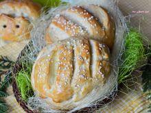 Chlebki i zajączki do koszyczka wielkanocnego