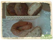 Chlebki na zakw. z ryżem i prażoną cebul