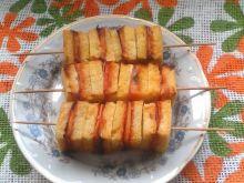 Chlebowe szaszłyki