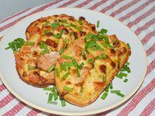 Chlebowe zapiekanki gyros
