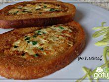 Chlebowo jajeczne grzanki