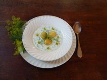 Chłodnik ogórkowy z młodymi ziemniakami