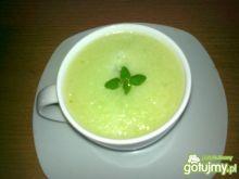 Chłodnik z ogórków zielonych