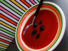 Chłodnik z pomidorów - gazpacho