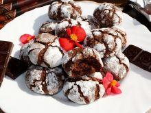 Chocolate Crinkles - popękane ciastka czekoladowe