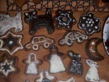 Choinkowe pierniczki w czekoladzie