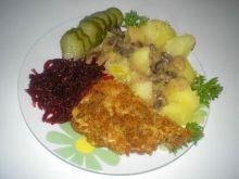 Chrupiąca panierka -  obiad dla Damy