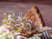 Chrupiąca sałatka z selerem