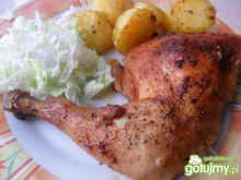 Chrupiące ćwiartki z kurczaka
