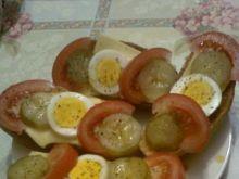 Chrupiące grzanki z jajkiem