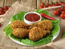 Chrupiące pałki z kurczaka a la KFC