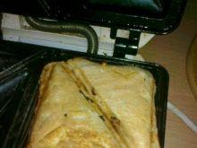 Chrupiące tosty z kiełkami fasoli mung