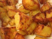Chrupiące ziemniaki w serowej pamierce