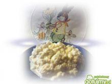 Chrzan z jajkiem na Wielkanoc