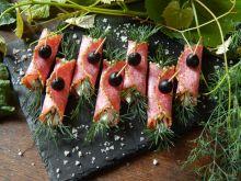 Chrzanowe roladki z salami