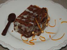 Ciacho czekoladowe z nutą pomarańczy