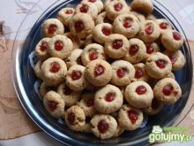 Ciasteczk huzarskie oczka