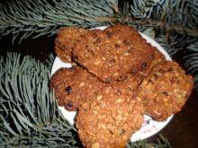 Ciasteczka bakaliowe na miodzie