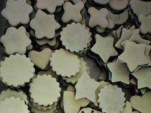 Ciasteczka biało - czarne