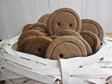 Ciasteczka cynamonowe guziki