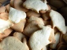 Ciasteczka cytrynowe z mąką kukurydzianą